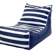 Bean Bag Outdoor Lounger Stripe Nautical