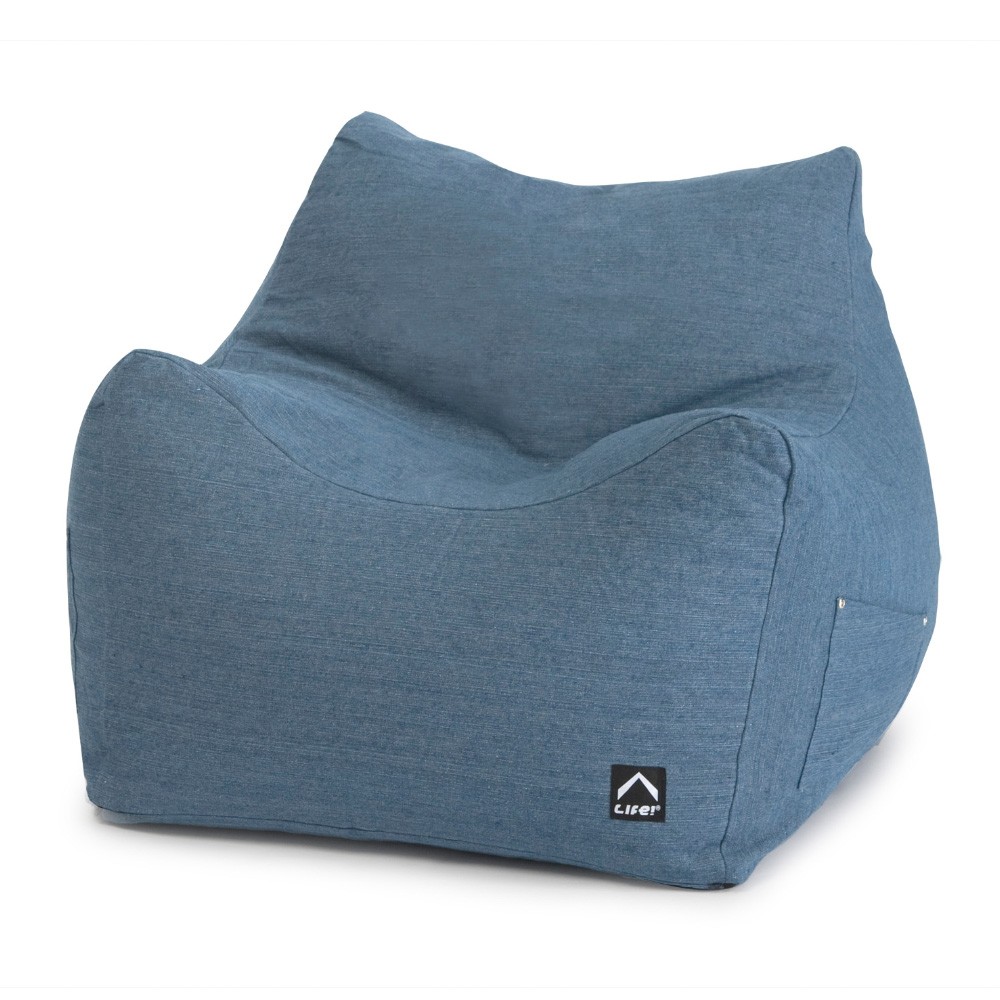 Cloud Chair Denim Bean Bag