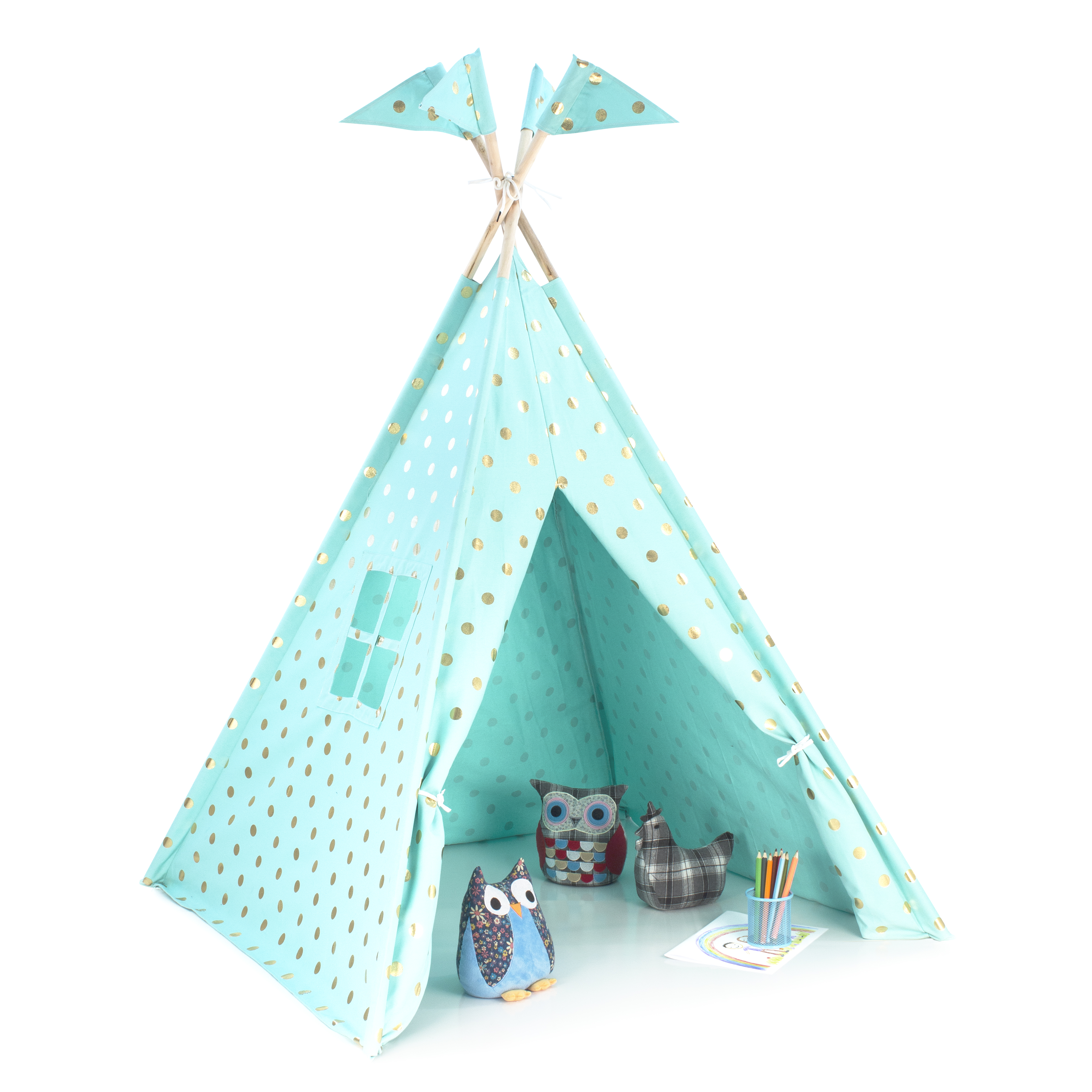 Teepee Gold Coin Kids Play Mint