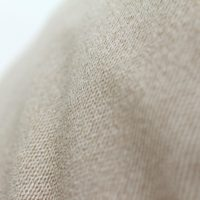 Close up of the tan fabric texture on the Coastal Haven bean bag