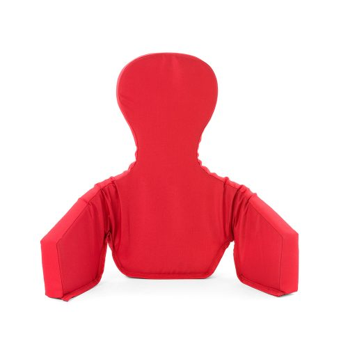 Red insert cushion for baby high chair