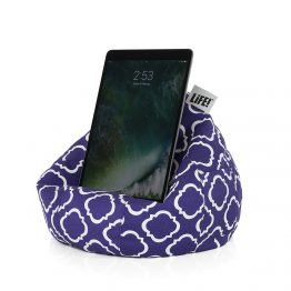 Purple Prisom Violet Cotton Life iCrib with pocket iPad holder