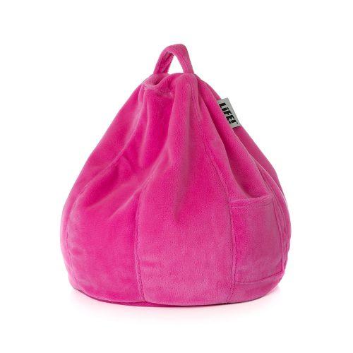 Pink Velvet Life iCrib bean bag