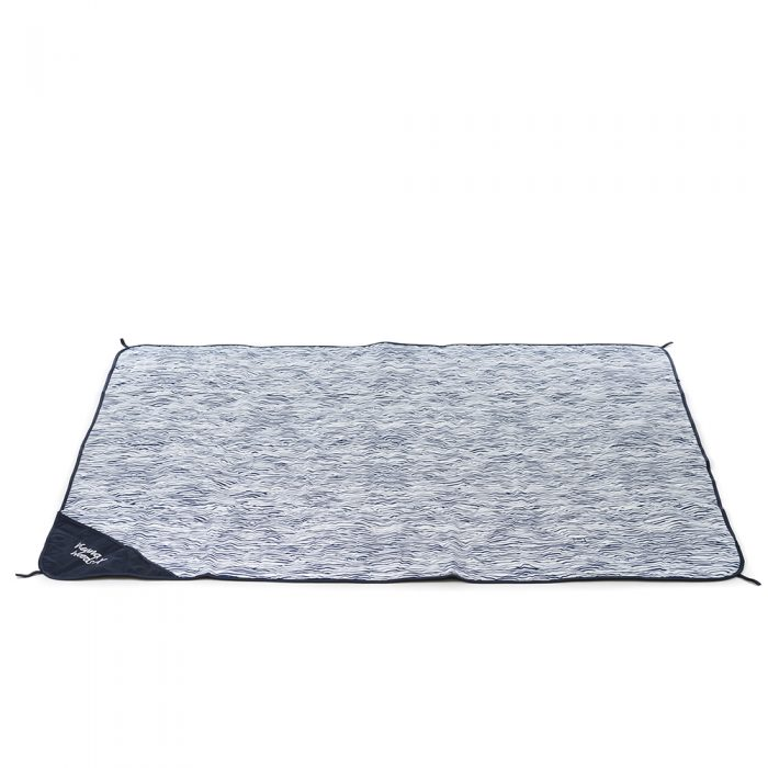 The marine print adventure mat, picnic rug, beach blanket