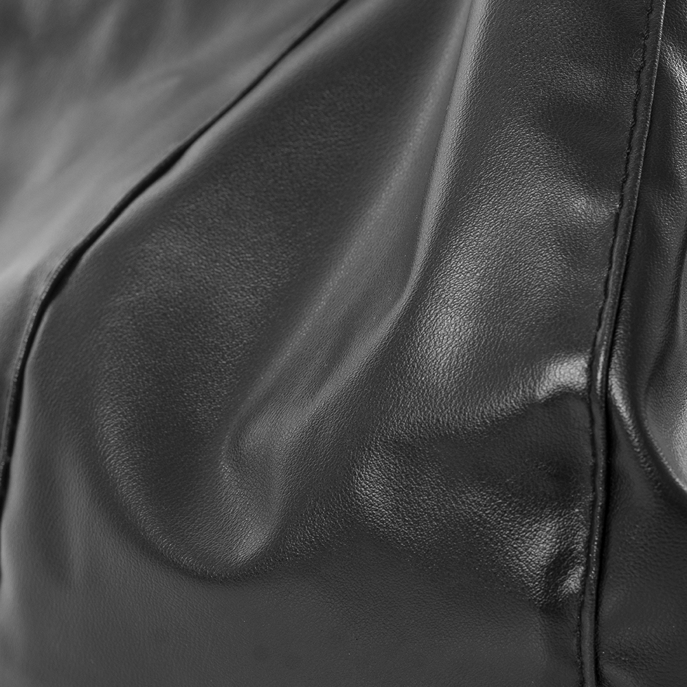 Close up of the rebel black icrib material
