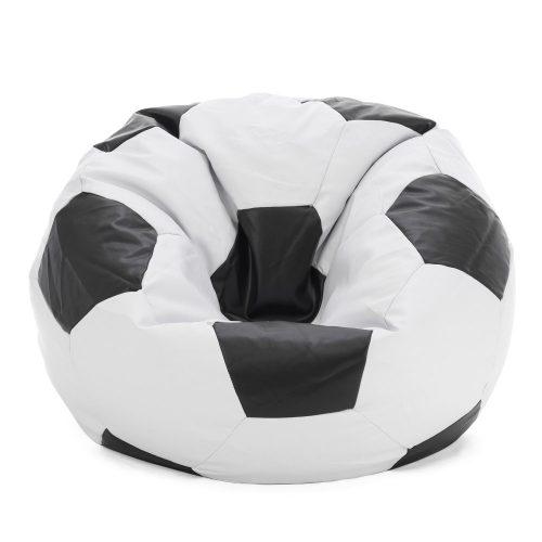 soccer ball bean bag looking sat in