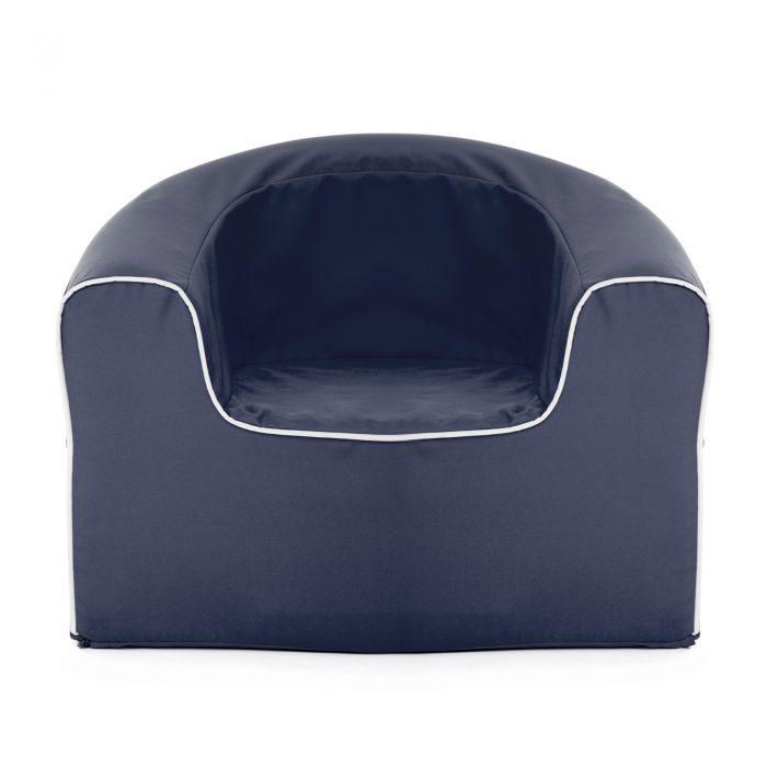 Crown blue pop armchair foam kids seat
