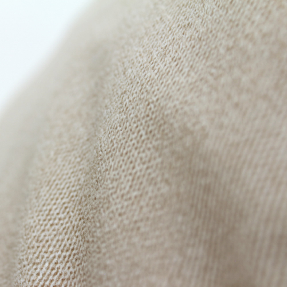 Close up of the tan fabric used on the coastal haven pop lounge