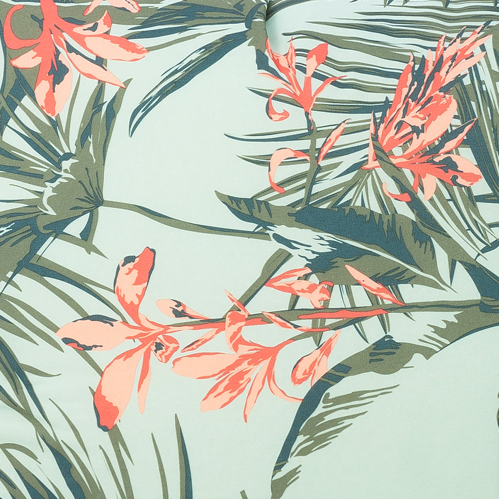 Close up of waikiki print fabric